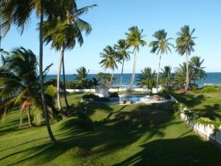 Ocean Front Home 4/4.5 beach/pool/24 hr staff - Gaspar Hernandez vacation rentals