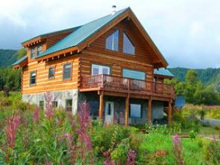 Our Log Home - Custom Built Alaskan Log Home - Homer - rentals