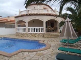 Espléndida Villa con piscina privada y aire acondi - Miami Platja vacation rentals