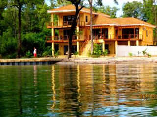 Executive Villa 5 bed/6 bath PRIVATE BEACH & DOCK from $99 24/7 Security - Hopkins vacation rentals
