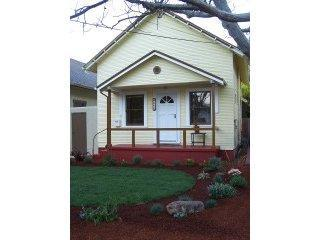 Front of Home - Downtown Private Home with Backyard - Mountain View - rentals