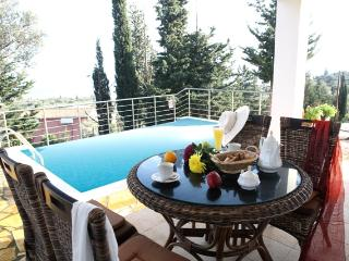 Private villa with private pool, sea views near beaches, Tsoukalades, Lefkas - Lefkas vacation rentals