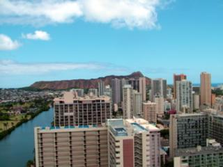 (Waikiki) Island Colony 37th floor, Quality Studio, Ocean View, Near Beach! - Image 1 - Honolulu - rentals