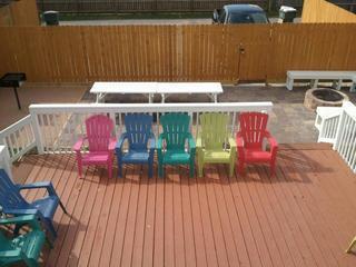 Privacy fencing all around backyard - Sleeps 16/7 Rms/ 3 Full Bths/ 3.5 Blocks from Plea - Galveston - rentals