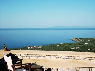 Hilltop villa with amazing sea views, over Stoupa - Stoupa vacation rentals