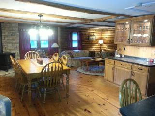 Private Spacious Country Log Cabin - Pownal vacation rentals