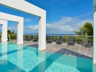 Hillside villa Eclipse with ocean views, heated pool, fitness room & daily maid - Vitet vacation rentals