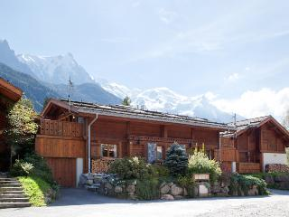 Chamonix Chalet with Hot Tub & Sauna Self-Catered - Chamonix vacation rentals