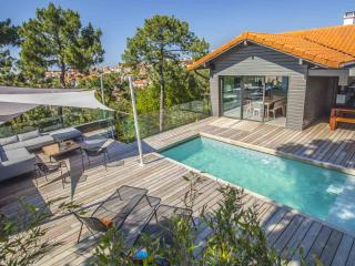 Elegant 5 BR Villa w/ Heated Pool Steps from Beach - Basque Country vacation rentals