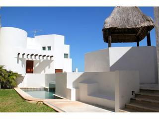 San Miguel beachfront home with private pool - Chuburna vacation rentals