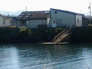 Pet-friendly Bayshore Beach home w/private dock & hot tub! - Waldport vacation rentals