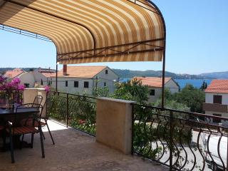 Deluxe two bedroom apartment with sea view - Okrug Gornji vacation rentals