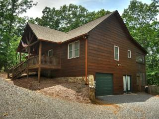 DRAGON`S DEN- 3BR/2BA- CABIN IN THE COOSAWATTEE RIVER RESORT SLEEPS 6, PET FRIENDLY, SCREENED PORCH, GAS GRILL, WIFI, DIRECT TV, AND A GAS FIREPLACE. ONLY $115 A NIGHT! - Blue Ridge vacation rentals