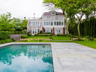 RANSW - Spectacular all new Harborfront Retreat, Heated Pool, Spacious Patio and Deck Areas, Stunning Views of Edgartown Harbor - Edgartown vacation rentals