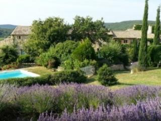 Three Houses with Pool, Sleeps 2 to 25 People - Goudargues vacation rentals