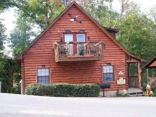 2 Bedroom Pigeon Forge TN Log Cabin Hidden Springs Resort 2 miles from town - Sevier County vacation rentals
