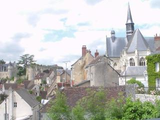 Lovely views on castle - cottage with terrace - Loire Valley vacation rentals