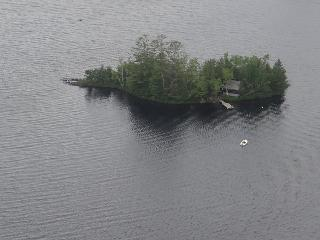 Private Island Cottage w/dock, kayak & sailboat - Brownville vacation rentals