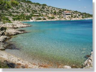 40m from beach at quiet island - Kaprije vacation rentals