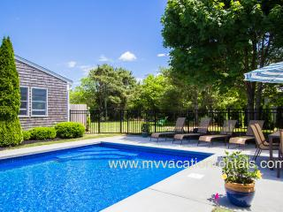FERR2 - Katama Main and Guest Compound, Heated Pool, Large Private Yard, Bike to South Beach, A/C - Edgartown vacation rentals