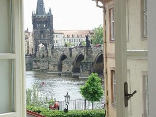 VIEWS OF BRIDGE AND CASTLE 1 - Prague vacation rentals