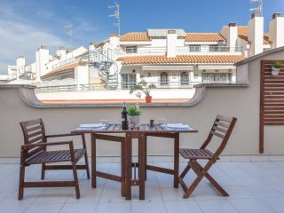 HELEN: 1 Minute to Beach-Nice Terrace - Sitges vacation rentals