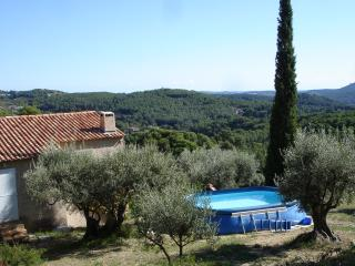In Sanary sur Mer, Family house in the middle of olive trees with sea view and pool - Sanary-sur-Mer vacation rentals