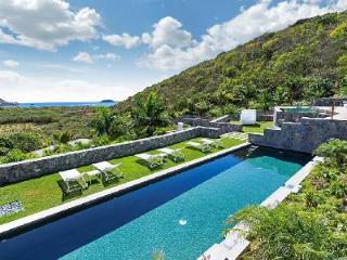 Spacious Dunes villa with two heated pools, graded terraces & walk to Saline Beach - Grande Saline vacation rentals