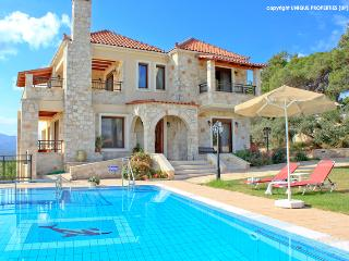 Luxury villa with private pool, gym, games room - Chania vacation rentals