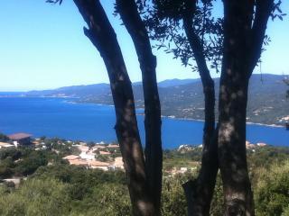 Magnifique panorama sur la mer 2/4 personnes - Propriano vacation rentals