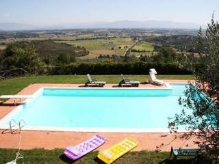 Restored, classic Tuscan farmhouse with pool and jacuzzi in the village of Monte San Savino - Monte San Savino vacation rentals