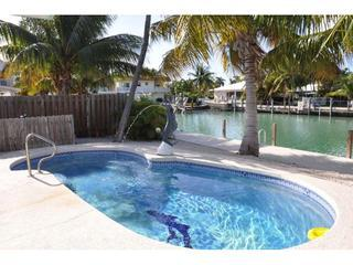 CHARMING KCB POOL COTTAGE, PVT POOL,46 FT DOCK - Key Colony Beach vacation rentals