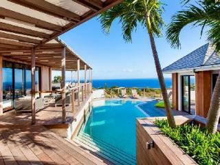 On  Vitet hillside, chic Soleimane villa with 360° ocean views & pool - Vitet vacation rentals