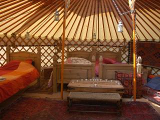 Old Chapel Farm orange Yurt - Llanidloes vacation rentals