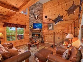 Gorgeous! Luxurious Cabin 3/3 With Mountain Views - Pigeon Forge vacation rentals