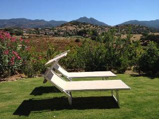 Villetta Ginestra - design furniture and fabulous mountain views - Chia vacation rentals