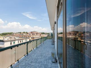 LUXURY FLAT WITH TERRACE 200 SQ. M. AUDITORIUM PARIOLI - Rome vacation rentals