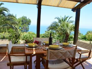 VILLA DEL DRAGO with garden and sea view - Scopello vacation rentals