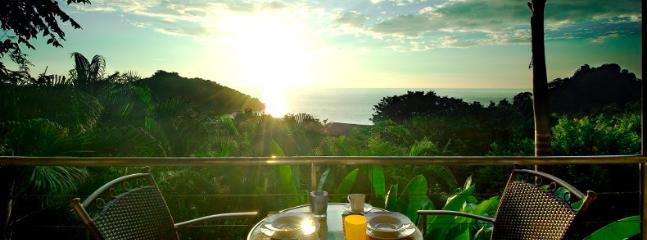 Panoramic Ocean Views from the Terrace - Casa Panorama Suite -- Perfect Honeymoon Spot! - Manuel Antonio National Park - rentals