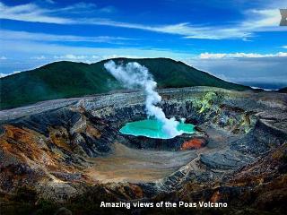 5 BR Eco Log cabin with incredible views of Poas Volcano - Vara Blanca vacation rentals