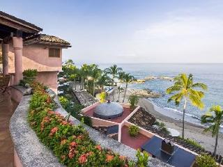 Exclusive beachfront Villa Marea Alta with Mexican style décor, pool & luxurious amenities - Mexican Riviera-Pacific Coast vacation rentals