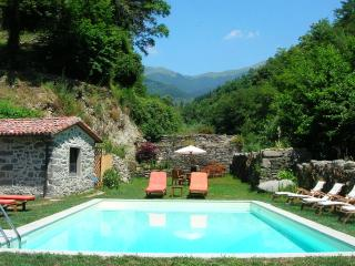 Tuscan Watermill: Majestic villa in unspoilt corner of the countryside with private pool and games room - Barga vacation rentals