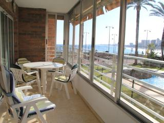 BEACH FRONT APT ONLY £250 P/W From 17th OCTOBER - Campello vacation rentals