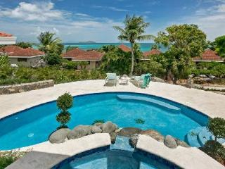 Tranquil ocean view Blue Lagoon- Zen garden, pool, putting green, near beach - British Virgin Islands vacation rentals
