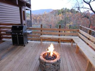 SECLUDED,20 Mile Mtn View,Gas Firepit,Theater Room - Pigeon Forge vacation rentals