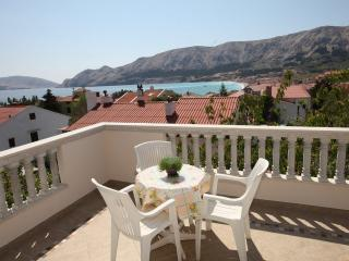 Apartment with Beautiful sea view - Baska vacation rentals