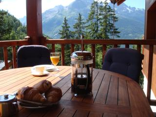 Chalet Clementine, free Wi-Fi available. - Oz en Oisans vacation rentals