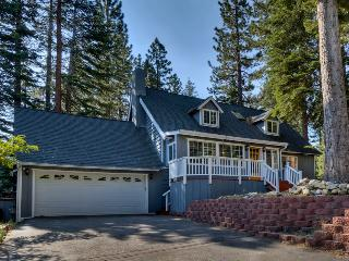 Home with spacious back deck, grill, hot tub and home theater room - Lone Pine Lodge - South Lake Tahoe vacation rentals