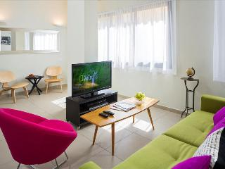 BARON -NEW!  Hip 2 BDR Off Rothschild Blv. - Israel vacation rentals