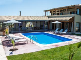 Beach villa with pool near Rethymno no car needed - Sfakaki vacation rentals